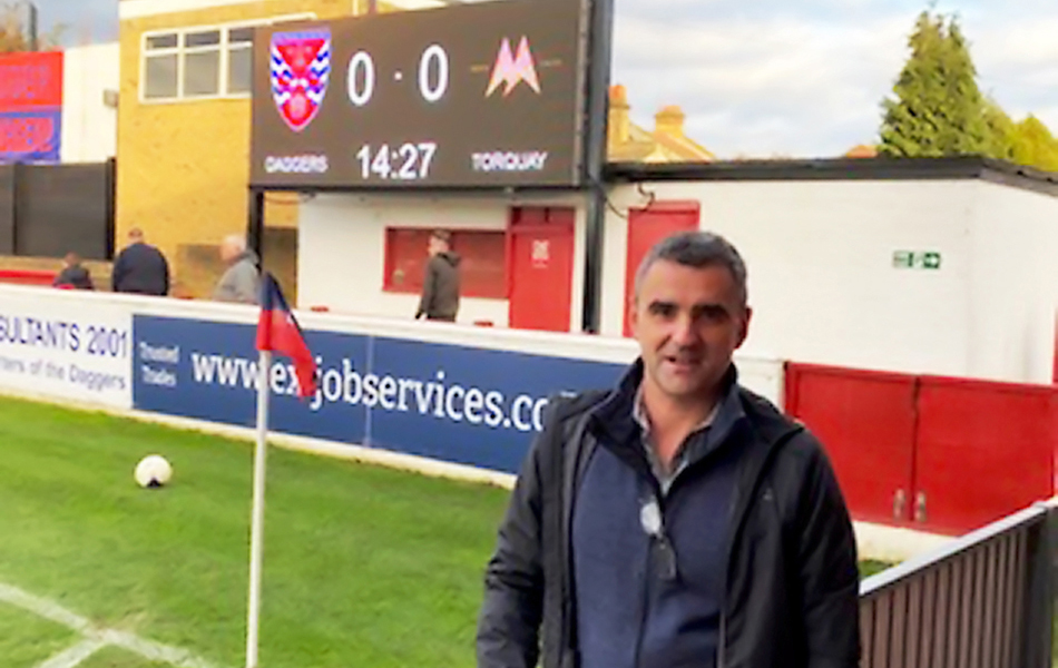 Steve at Torquay vs. Dagenham & Redbridge